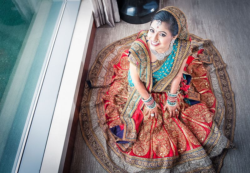 Bridal Wear Best Colours That Work Great With Wedding Photos