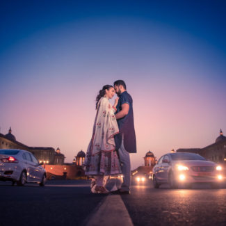 Pre-wedding couple portrait shoot Delhi photography