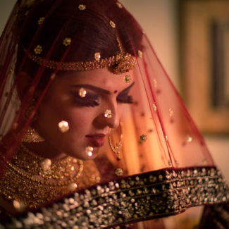 Bridal portrait Indian wedding photographer Jaipur destination wedding