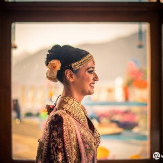 Arjun Kartha Wedding photography Bridal Portrait Mussoorie