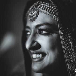 Arjun Kartha Wedding photography bridal portrait Mussoorie India