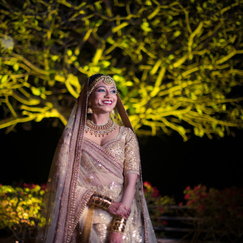 Wedding photography Sabyasachi bride portrait India