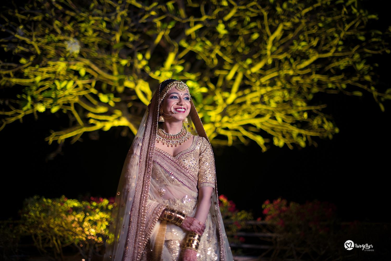 Wedding photography Sabyasachi bride portrait India
