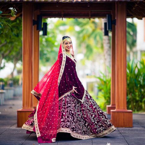 Sabyasachi bridal portrait wedding photography