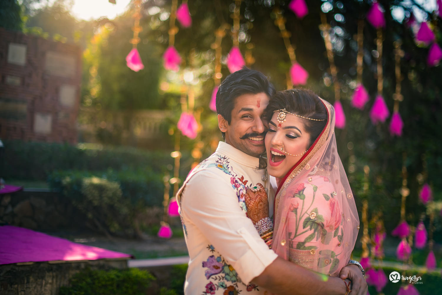 Indian wedding photography couple photo
