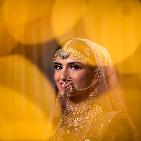 Wedding photography Sabyasachi bridal portrait Delhi