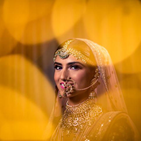 Wedding photography Sabyasachi bridal portrait Delhi