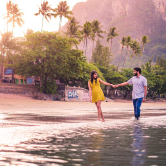 Couple shoot pre-wedding Krabi beach