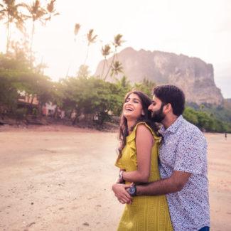 Pre-wedding couple shoot Krabi
