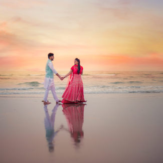 pre wedding couple shoot Goa Twogether Studios wedding photography